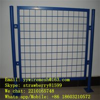 Wholesale Green Coated Wire Mesh Fence m Height and m Length