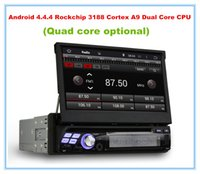 """Cheap Quad Core HD 1 din 7"""" Universal Android 4.4 Car PC Car DVD Player With 3G built-in wifi Radio   RDS Bluetooth IPOD TV USB AUX IN"""