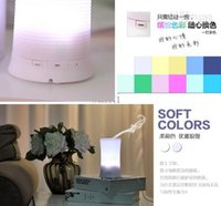 Wholesale Home Appliances Ultrasonic Color Rainbow LED Aroma Diffuser Air Humidifier Aromatherapy Purifier Mist Maker For Home Office
