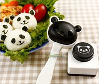 onigiri - Cute Panda Homemade Sushi Mold Rice Ball Onigiri Mould Nori DIY Japanese Sushi Maker Bento