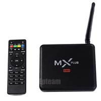 Wholesale new arrival updated version MX plus with Antenna Xbmc KODI k2k Android Tv Box Lollipop Quad Core S905 g g