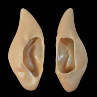 best costume deals - Best Deal New Pair Pointed Fairy Elf Halloween Soft False Ear Costume Cosplay Party Props