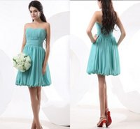 Cheap Reference Images Bridesmaid Dress Best A-Line Strapless 2014 Bridesmaid Dress