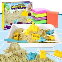 Wholesale Special offer puzzle toy space cartoon change children s toys DIY sand sand set