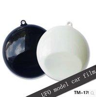 Wholesale car film UFO model change color film body film showcase model membrane spray paint swatches