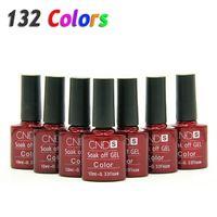 Wholesale 2016 Nail Gel Polish UV LED Shining Colorful Colors10ML Long lasting soak off Varnish cheap Manicure