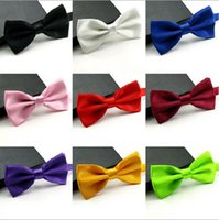 Wholesale New style Fashion Man and Women printing Bow Ties Neckwear Wedding Bow Tie