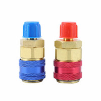 Wholesale New hot selling High and Low Quick Coupler Connector Adapter R134A Conversion QC Set Auto Car
