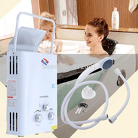 gas water heater - Portable L LPG Propane Gas Tankless Instant Hot Water Heater Instant Boiler CE A3