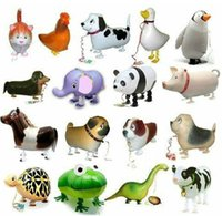 Wholesale Assortment Design Walking Pet Balloon Hybrid Models of Animal Balloons Children Party Toys Boy Girl Gift