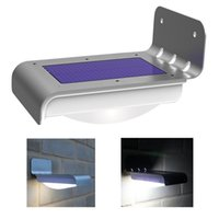 Wholesale HOT SELL LED Solar Power Motion Sensor Garden Security Lamp Outdoor Waterproof Light