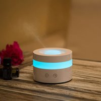 Wholesale Touch USB LED Essential Oil Aroma Diffuser Ultrasonic Humidifier Aromatherapy Atomizer Home Office ml