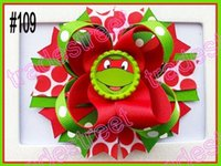 Wholesale quot Inspired Boutique Layered Hair Bow birthday hair bows girl hair clips B