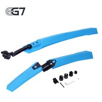 Wholesale RBRL quot Bike Bicycle MTB Fender Mudguard Front Rear Quick Release mountain Mud Guards Fenders Set cycling mudguard Black Gray