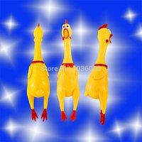 Wholesale new style Promotion New CM Screaming Chicken Pet product Sound Dog and cat Toys