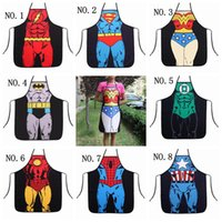 funny novelty aprons - superhero aprons Sexy Novelty Funny Naked Men Women Kitchen Cooking Chef Bbq Party Apron