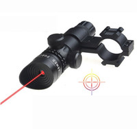 Wholesale nm Tactical mw Red Laser Sight Scope Red Laser Designator With mm Rail Mount Dual Switch
