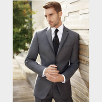 Picture suggestion for Dark Grey Prom Suits