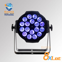 Wholesale X Freeshipping RGBAW W Super bright LED Par Light Panta par DMX RGBAW led par light