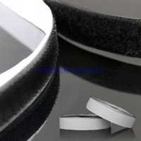 hook and loop fasteners - Fabrics and Sewing Tools New Self Adhesive Velcro Hook Loop Stitch Tape Fastener Sticky Black