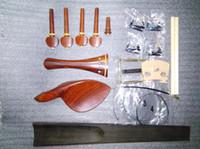 best wood clamps - Best Quality Rose wood Violin fittings tuner gut clamp bridge etc in SF12