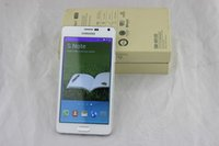 Wholesale 5 inch Note SM N9100 MTK6582 Quad Core Smartphone Android4 Unlocked MP camera HD GB Ram GB Rom G free DHL