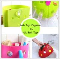 bath - New Super Scoop Bath Toy Organizer Toddler Baby Kid Bath Tub Toys Storage Bin