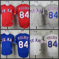Men texas rangers - texas rangers prince fielder Cheap Wholesales Baseball Jersey Embroidery Name and Logo EME DHL
