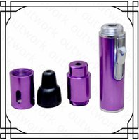 Wholesale 2016 High quality A Click N Vape Vapor Herbal Vaporizer Sneak with built inWind Proof Torch Lighter