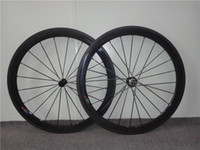Wholesale Carbon Bike Wheels mm mm mm mm Clincher or Tubular Carbon Wheels for Road Bike mm Wide Powerway R13 Light Hub