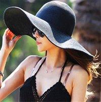 Cheap Women Wide Large Brim hats Best Sun Straw Hat