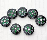 backpacking cheap - Cheap mm Diameter Button Mini Compass Plastic Mini Button Size Compass Pocket Compass North compass needle