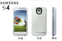 NUEVO para Samsung S4 la parte posterior de la batería de gran capacidad de 4200mAh de copia de seguridad S4 50pcs de energía portátil de suministro de DHL de sujeción