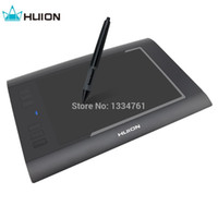 Wholesale Huion x Inches LPI RPS Digital Art Graphics Pen Drawing Tablet with Levels of Pressure Sensitivity H58L
