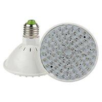 Wholesale 20pcs E27 RED and BLUE LED W V V Hydroponic Plant Grow Growth LED Light Bulb Growth Light Lamp AC V