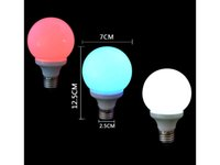 Wholesale Magic P K Light bulb Magic Trick with Colorful Magnet Ring for Magic Toy By DHL
