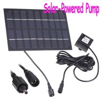 Wholesale Solar Brushless Pump For Water Cycle Pond Fountain Rockery Fountain Dropshipping