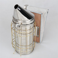 beekeeping smoker - New Home decor Bee Hive Smoker Heat Shield Beekeeping Tool Equipment Stainless Steel high quality