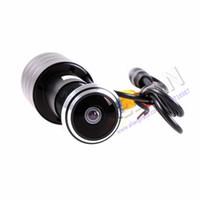 Acheter Contrôle d'accès cctv-700TVL SONY Effio-E 4140 + 811 \ 810 Petit 170 Degree Caméra grand angle de contrôle d'accès porte Eye caméra de sécurité CCTV pour 960H DVR