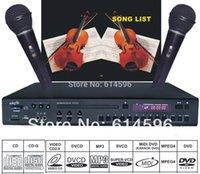 karaoke machine - Karaoke Machine DVD DviX CDG Player Mics karaoke system with songs