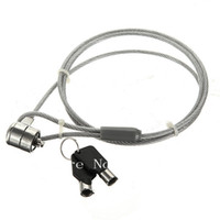 Wholesale Anti Theft Portable Security Cable Chain Lock For Laptop Computer Notebook Key