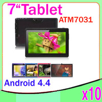 Wholesale Quad Core atm Tablet PC with inch Capacitive touch Android Kitkat ZY MID