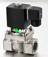 Wholesale solenoid valve stainless Steel inch steam Vac