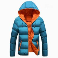 Wholesale 2015 Winter Men Jackets Coats Hot Sale Thick Warm Cotton Padded Outerwear Men Hooded Casual mens winter jackets and coats halloween