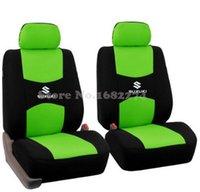 alto pink - 2 front seats Universal car seat cover Suzuki Jimny Grand Vitara Kizashi Swift Alto SX4 Wagon R Palette Stingray accessories