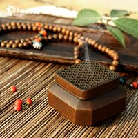 Wholesale Zen pure copper square cross take archaize square furnace manual copper furnace