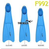adult flippers - THENICE F992 adjustable adult submersible long fins Swimming Snorkel diving Fins fcs Snorkeling Flipper Submersible
