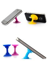 Wholesale Fashion Silicone Double sided Suction Cup Holder Sucker Stand For Mobile Phones