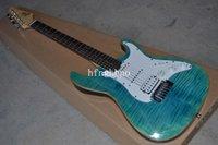 Qualité d'usine d'OEM CHAUD! Guitare électrique Suhr Pro S4 Root Stain Guitare électrique Suhr Pro Series Guitare électrique bleu clair