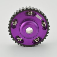 Wholesale 20V Purple Aluminum Ajustable Cam Gears TOYOTA Engine AGE V Cam Gear Cam Pull